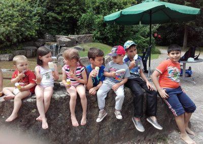 Ieșire cu copiii bisericii